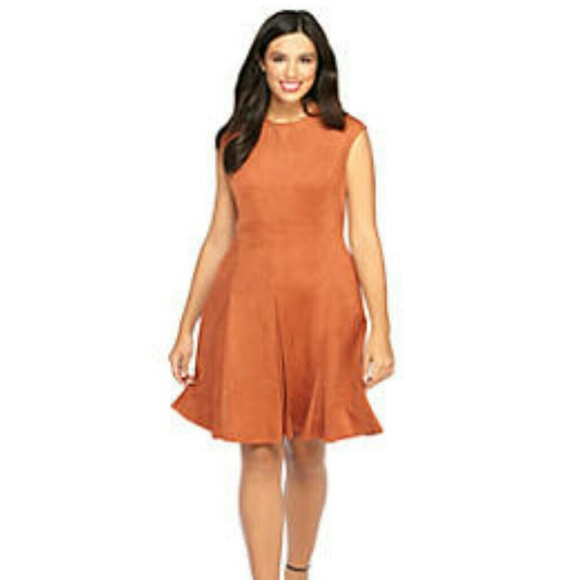 suede dress musthave